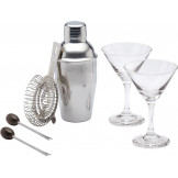 Set mini coctelera + vasos