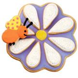 Set 3 cortadores de galletas Flor-Hoja-Abeja