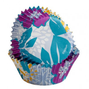 Cápsulas para cupcakes Colorcups Flor Cool, 36u. Wilton