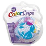 Cápsulas Colorcups Flor Cool, 36u. Wilton