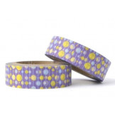 Washi Tape Morado Lunares Colores