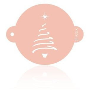 Stencil Arbol Navidad