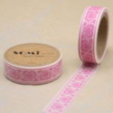 Washi Tape Corazones Rosas
