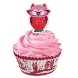 Set Cupcakes + picks San Valentín Wilton 24u.