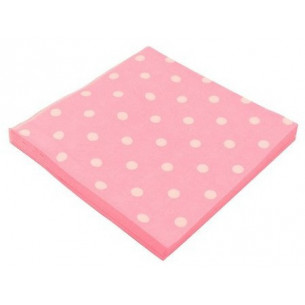 Servilletas doble capa Pink Dots