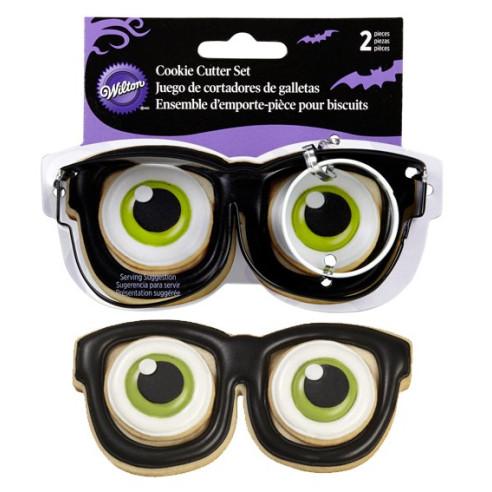 Cortador de gafas con ojo Halloween Wilton
