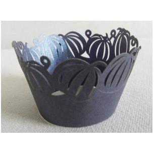 Wrapper para cupcakes calabazas negras PME
