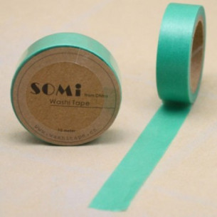 Washi Tape Verde Oscuro
