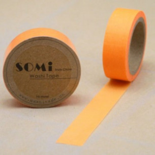 Washi Tape Naranja Neon