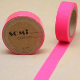 Washi Tape Rosa Neon