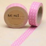 Washi Tape Rosa Rombos