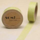 Washi Tape Rayas Verde lima