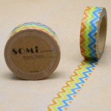 Washi Tape ZigZag Colores Mod.1