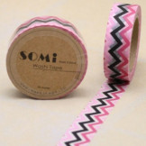 Washi Tape ZigZag Colores Mod.3