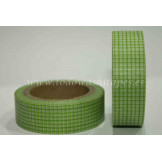 Washi Tape Cuadritos Verdes