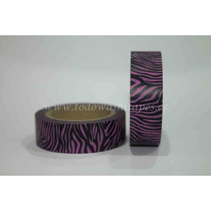 Washi Tape Rosa Cebra