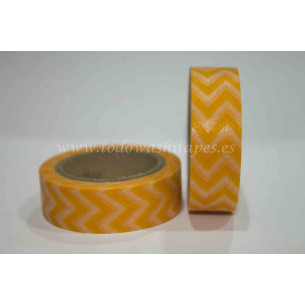 Washi Tape ZigZag Naranja