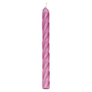 Velas cumpleaños Rosas, 24u. Wilton