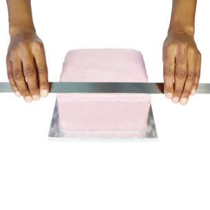 Regla de Acero para Glasa o Merengue, 40cm PME