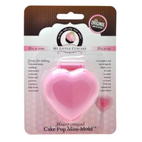 Molde para cakepops - Corazón