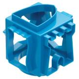 Cubo 6 cortadores de galletas Azul