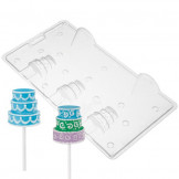 Molde chocolate o caramelo 3D Cake Pop Wilton