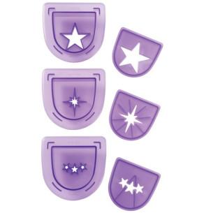 Set 3 troqueles Wilton Estrellas