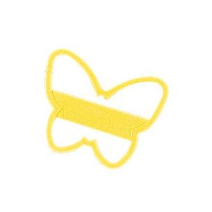 Cortador de galletas amarillo Mariposa Wilton