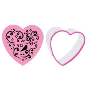 Set cortador + estampador Corazón