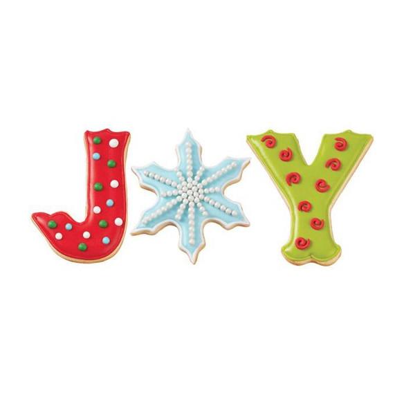 Set 3 Cortadores Navidad Joy Wilton