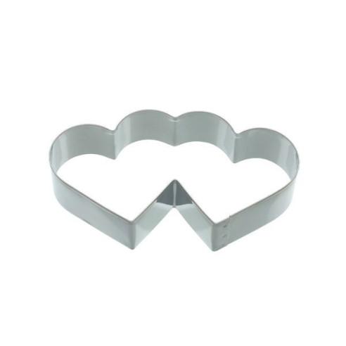 Cortador doble corazón 11,5cm Kitchen Craft