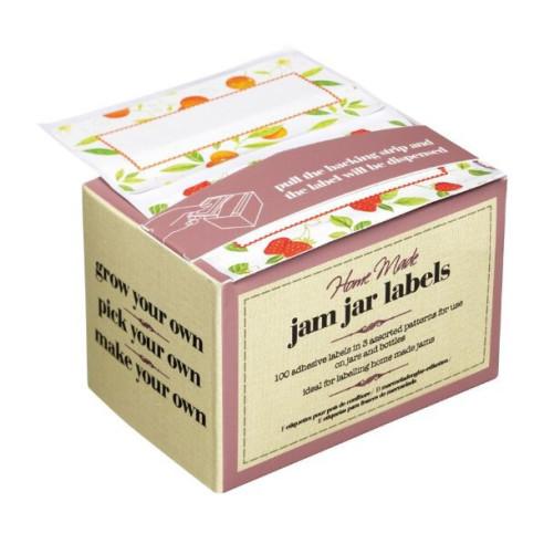 Etiquetas adhesivas para tarros Frutas