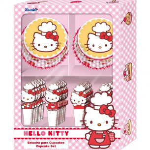 Set cupcakes Hello Kitty