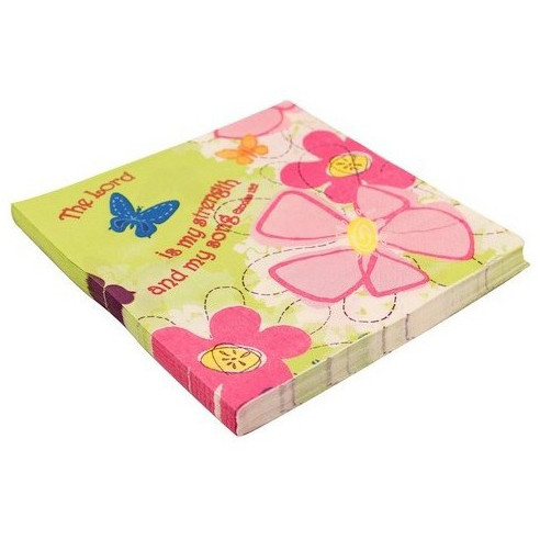 Servilletas doble capa Happy Flower