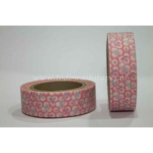 Washi Tape Rosa Colmena