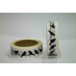 Washi Tape Pajaros