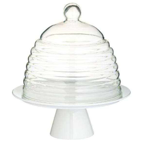 Expositor de vidrio para tartas/cupcakes KitchenCraft
