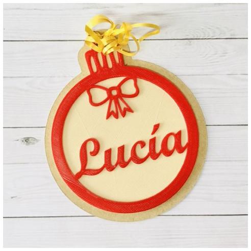 Bola de Navidad personalizada con tu...