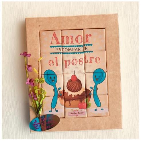 Marco 12 Chocolates - Amor es...