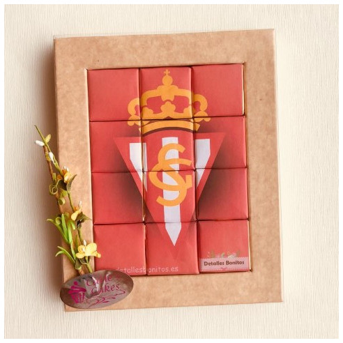 Marco 12 Chocolates - Sporting de Gijon