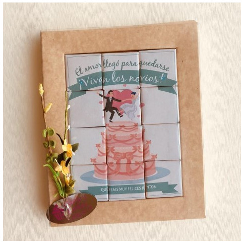 Marco 12 Chocolates - El amor llegó...