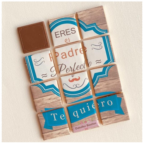 Marco 12 Chocolates - Eres el padre...