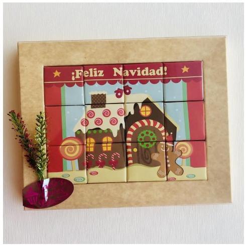 Marco 12 Chocolates - Feliz Navidad -...