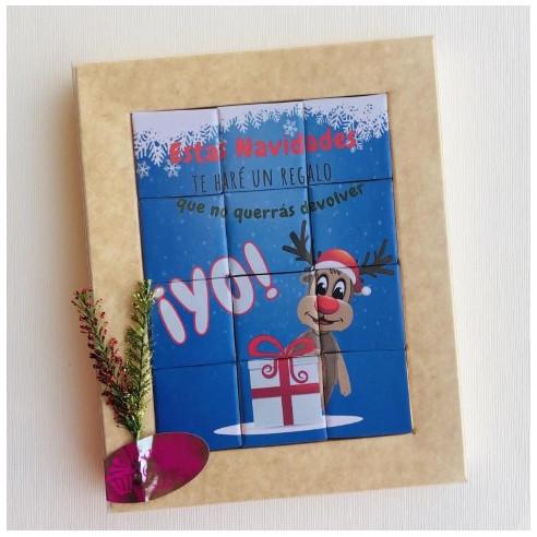 Marco 12 Chocolates - Estas navidades...