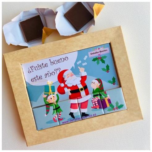 Marco 12 Chocolates - ¿Fuiste bueno...