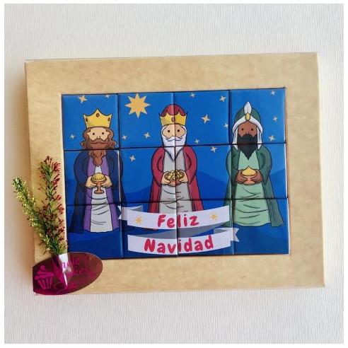 Marco 12 Chocolates- Feliz Navidad -...