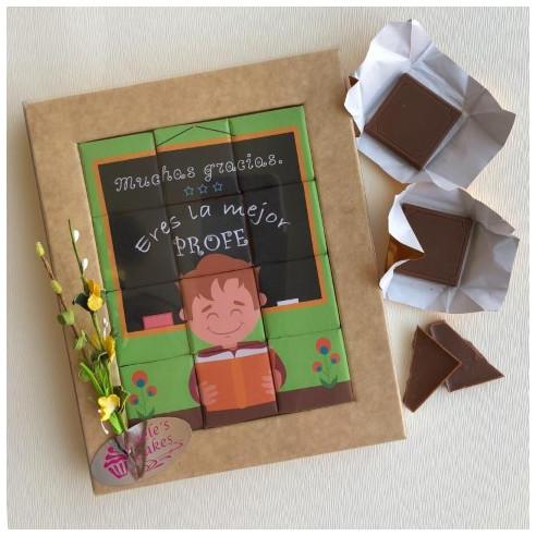 Marco 12 Chocolates - Muchas gracias,...