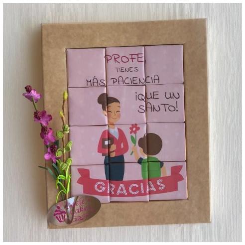 Marco 12 Chocolates - Profe, tienes...