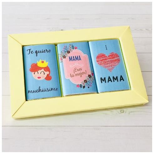 Marco 3 chocolates - Mama, eres la mejor