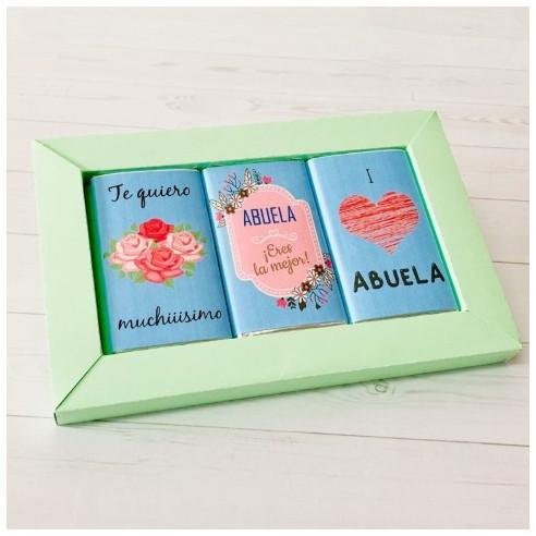 Marco 3 chocolates - Abuela, eres la...
